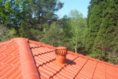 Whirly Vent on Tile Roofs