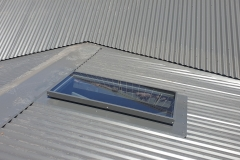 Skyvac custom sized skylight