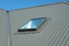 Skyvac Skylights on a pitched roof