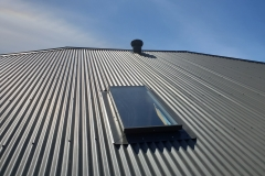 Skyvac Skylights on a colorbond roof