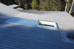 Skyvac Skylights on a gal roof