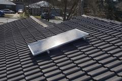 135W solar skylight panel