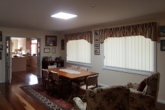 45W square recessed skylight in the dining