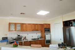 45W square recessed skylight in the kitchen