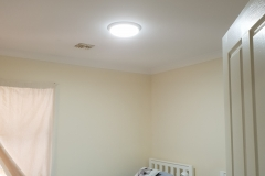 oyster round skylight in the bedroom