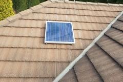 65W solar skylight panel