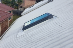 VELUX manual opening on metal roof 2