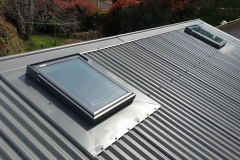 VELUX on metal roof