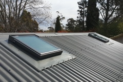 VELUX on metal roof 2